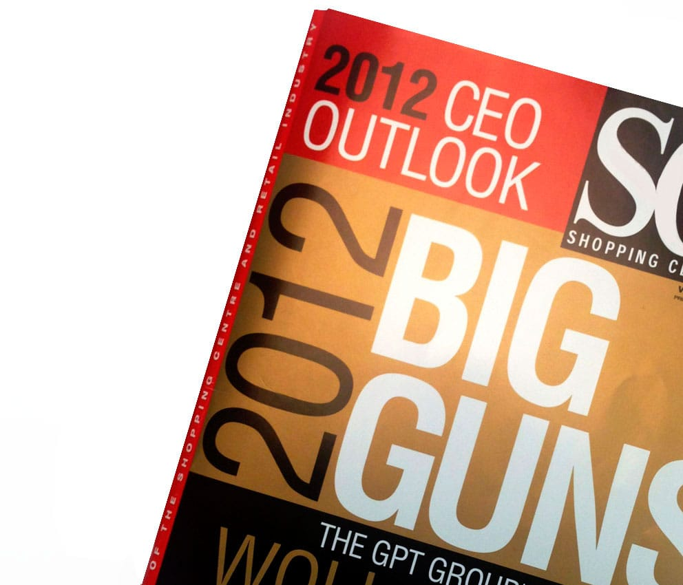 Image for the article Shopping Centre News Big Guns 2012 Edition