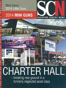 Cover of Shopping Centre News, from 30th September, 2014