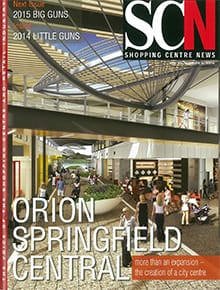 Cover of Shopping Centre News, from 30th November, 2014