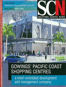 Cover of Shopping Centre News, from 31st July, 2015