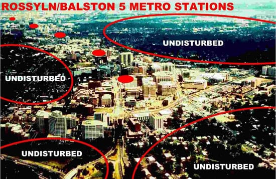 The Rosslyn-Ballston solution in Washington
