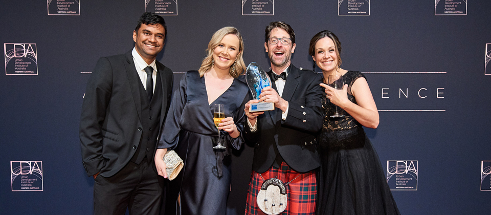 Feature image for the article 'UDIA Award win in Western Australia'
