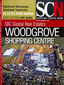 Cover of Shopping Centre News, from 20th December, 2012