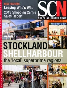 Cover of Shopping Centre News, from 31st July, 2013