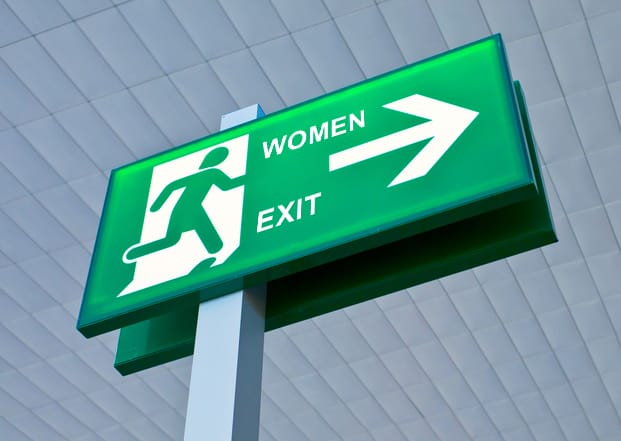 Feature image for the article 'Women exit architecture: Where do they go (and does it matter)?'