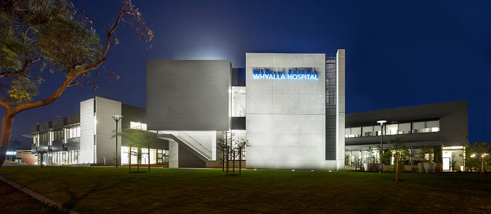 Feature image for the article 'Whyalla Healing Centre Nominated for Quality Build and Design'
