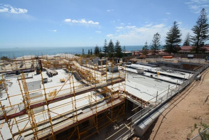 Hames Sharley News Article: Construction underway for Wearne, Cottesloe