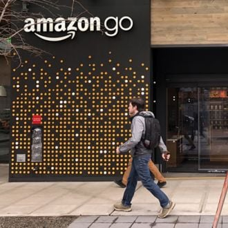 Feature image for the article 'Fad or future? The worth of Amazon Go' by Caillin Howard