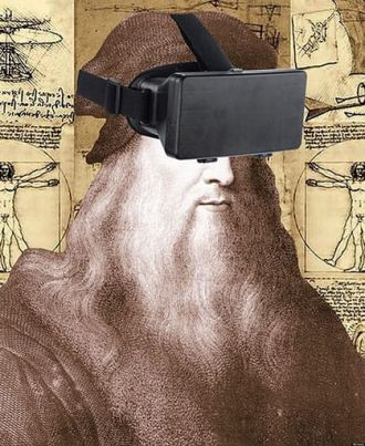 Feature image for the article 'From da Vinci to Virtual Reality' by Michael Cooper