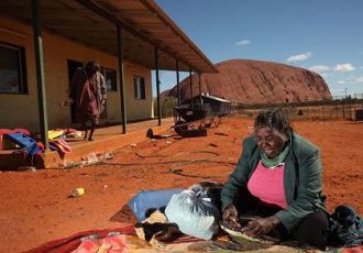 Feature image for the article 'Are social and intercultural issues behind the high rate of homeless Indigenous Australians?' by Andrew Bock