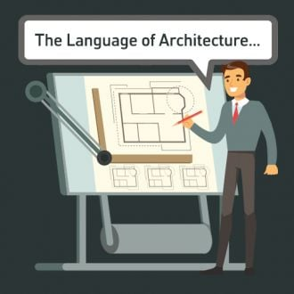 Thumbnail for the article 'The language of architecture' by Jack Belfer