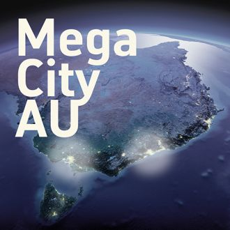 Feature image for the article 'Melbourne and Sydney battle it out to become Australia's first megacity' by Vanessa McDaid