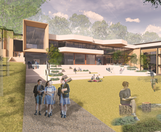 Thumbnail for the article 'Scotch College Wellbeing and Sports Centre to be one of three LBC certified projects in Australia'