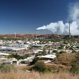 Feature image for the article 'The Social Life of Mining Towns' by Michelle Cramer