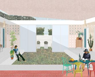 Thumbnail for the article 'Hames Sharley announces three winners of Junction design competition'