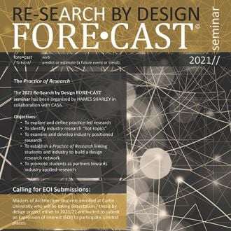 Thumbnail for the article ' Hames Sharley Student Leads and the FORECAST Re-SEARCH Seminar'