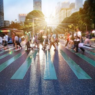 Feature image for the article 'Cities taking great strides towards walkability' by Vanessa McDaid