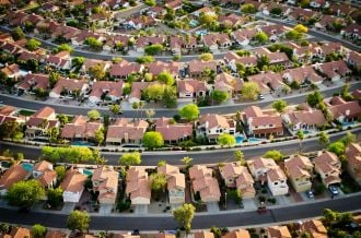 Feature image for the article 'A love that won't die: Living in the suburbs'