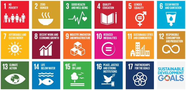 The 17 Sustainable Development Goals to transform the world