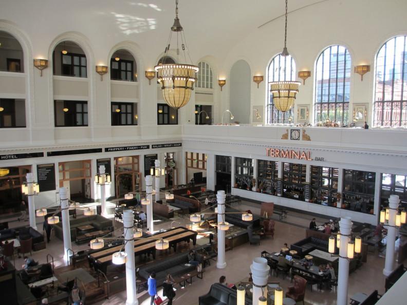 Denver's Union Station interior