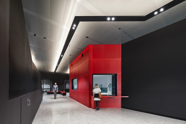 Interior fit-out of the NEXTDC P2 Data Centre in Perth