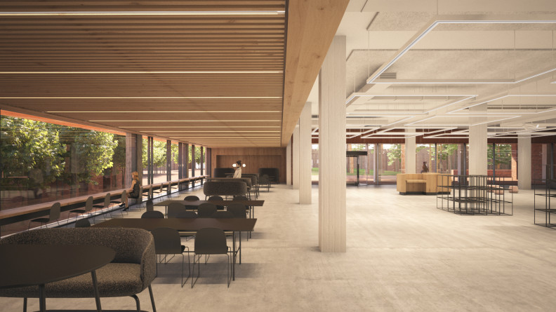 TR Robertson Library upgrade, Curtin University