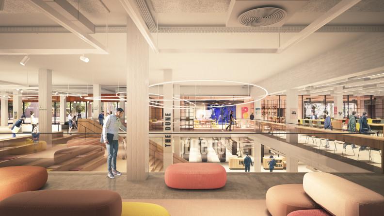 Curtin University's $60 million TL Robertson Library refurbishment