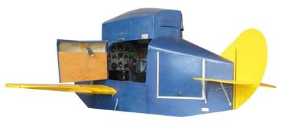 An early flight simulator.
