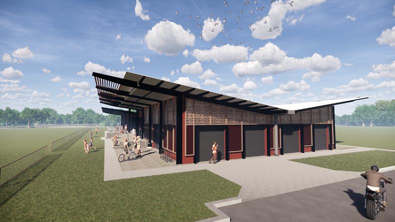 Katherine Sportsgrounds, Northern Territory, Sports & Recreation Design