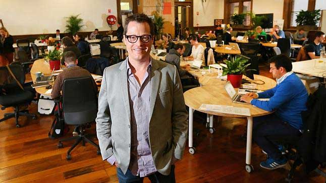 Brad Krauskopf, CEO of Third Spaces Group and founder of Hub Australia, CoActive8 and Platform3