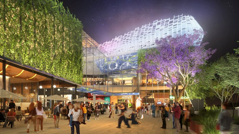 The Macquarie Shopping Centre - mixed-use transport-orientated precinct