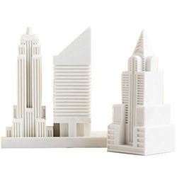 New York City Skyline Eraser Set