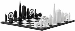 Skyline Chess by architects Chris Prosser and Ian Flood