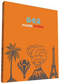 Cover of '642 Places to Draw' book