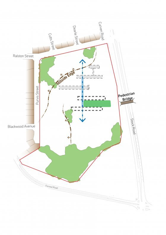 Site character plan, OneOneFive Hamilton Hill