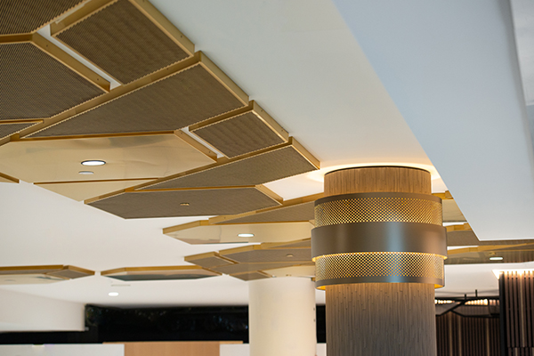 Attention-catching feature ceilings - Rundle Mall Plaza, Adelaide