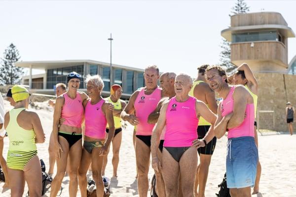 Scarborough Surf Life Saving Club members