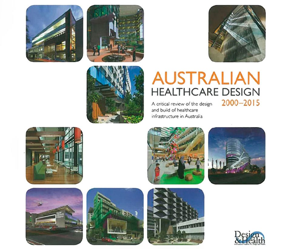 Thumbnail for the article 'Hames Sharley Featured in Australian Healthcare Design Publication'