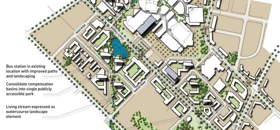 Feature image for the article 'Hames Sharley Awarded Morley Master Plan'